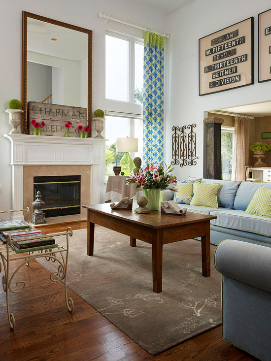 new home interior design house tours old meets new thanks to flea market finds