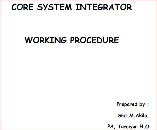 post and core procedure pdf