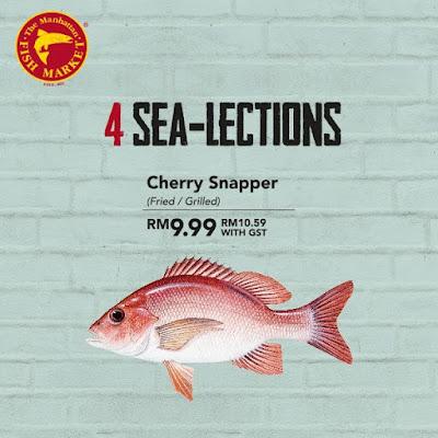 The Manhattan FISH MARKET Cherry Snapper