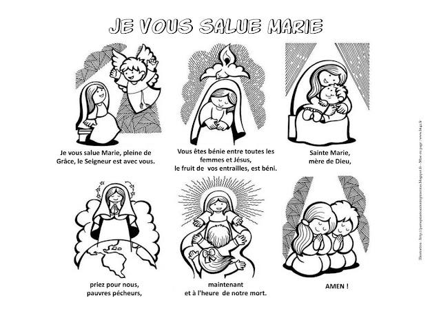 PRIERE JE VOUS SALUE MARIE