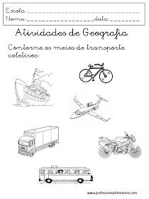 Atividades de Geografia para Educação Infantil