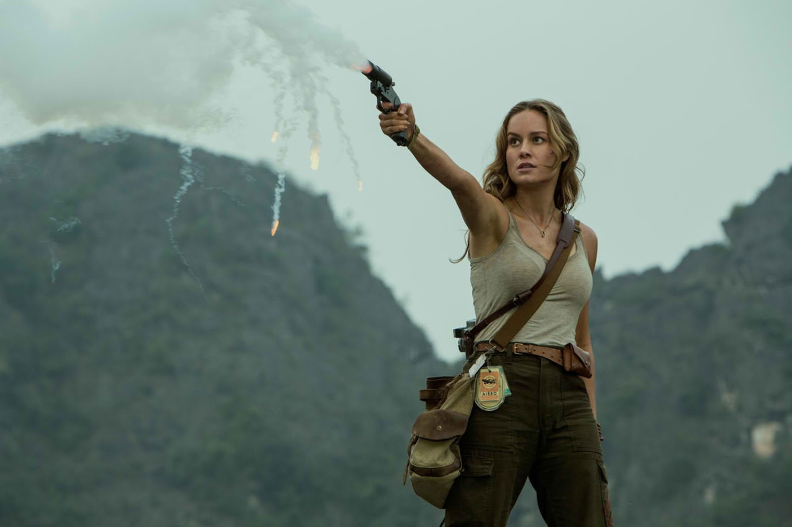 Brie Larson Channels Her Inner Action Hero in \