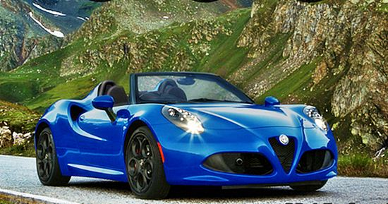 2016 alfa romeo 4c spider series price and review car drive and feature. Black Bedroom Furniture Sets. Home Design Ideas