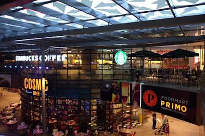 Lippo Mall Kuta Tampak Dari Dalam yang sangat indah jika di lihat dari ketinggian