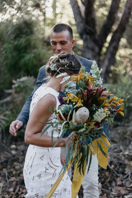 DENMARK WA WEDDING PHOTOGRAPHY IN THE WILDS SOMEPLACE DIGITAL WEDDING MAGAZINE