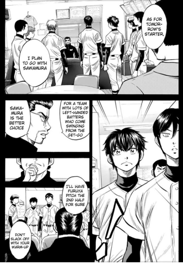 Daiya no A - Act II - Chapter 27