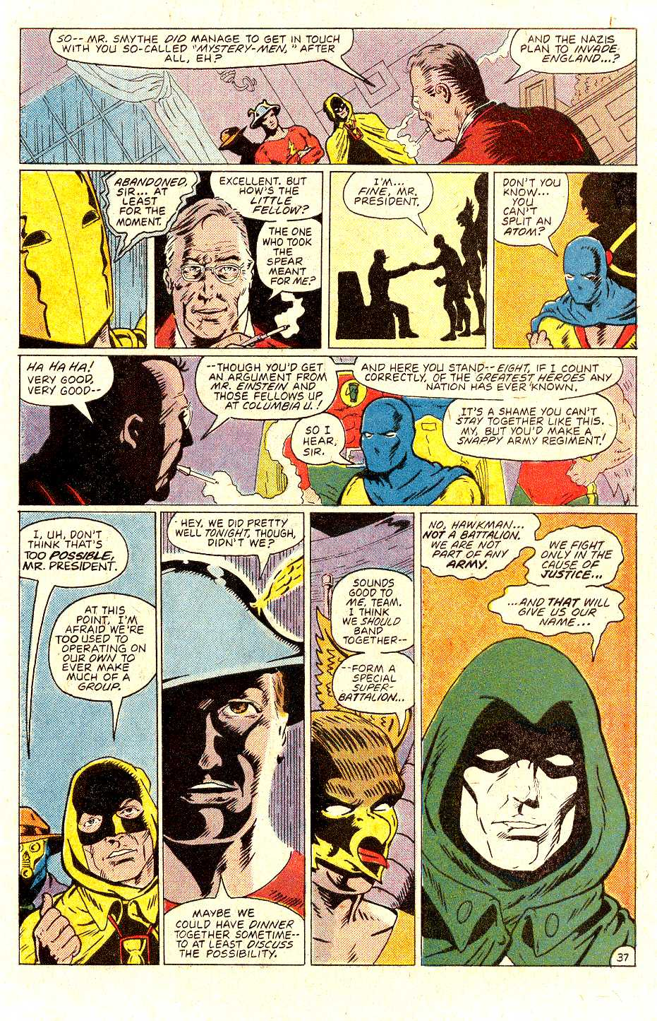 Read online Secret Origins (1986) comic -  Issue #31 - 38