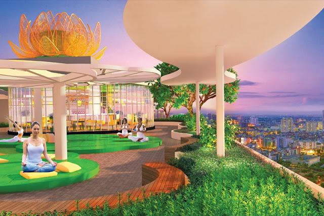 Khu căn hộ Diamond Lotus Lakeview
