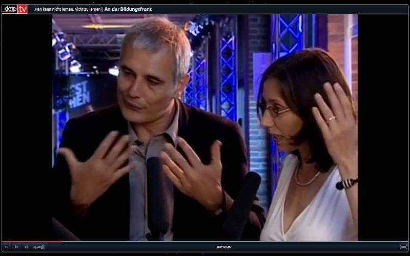 Laurent Cantet und Caroline Elias, zwei Köpfe, drei Hände
