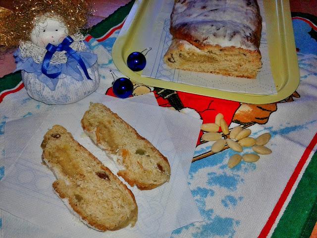 різдвяний кекс штоллен з родзинками рецепт
