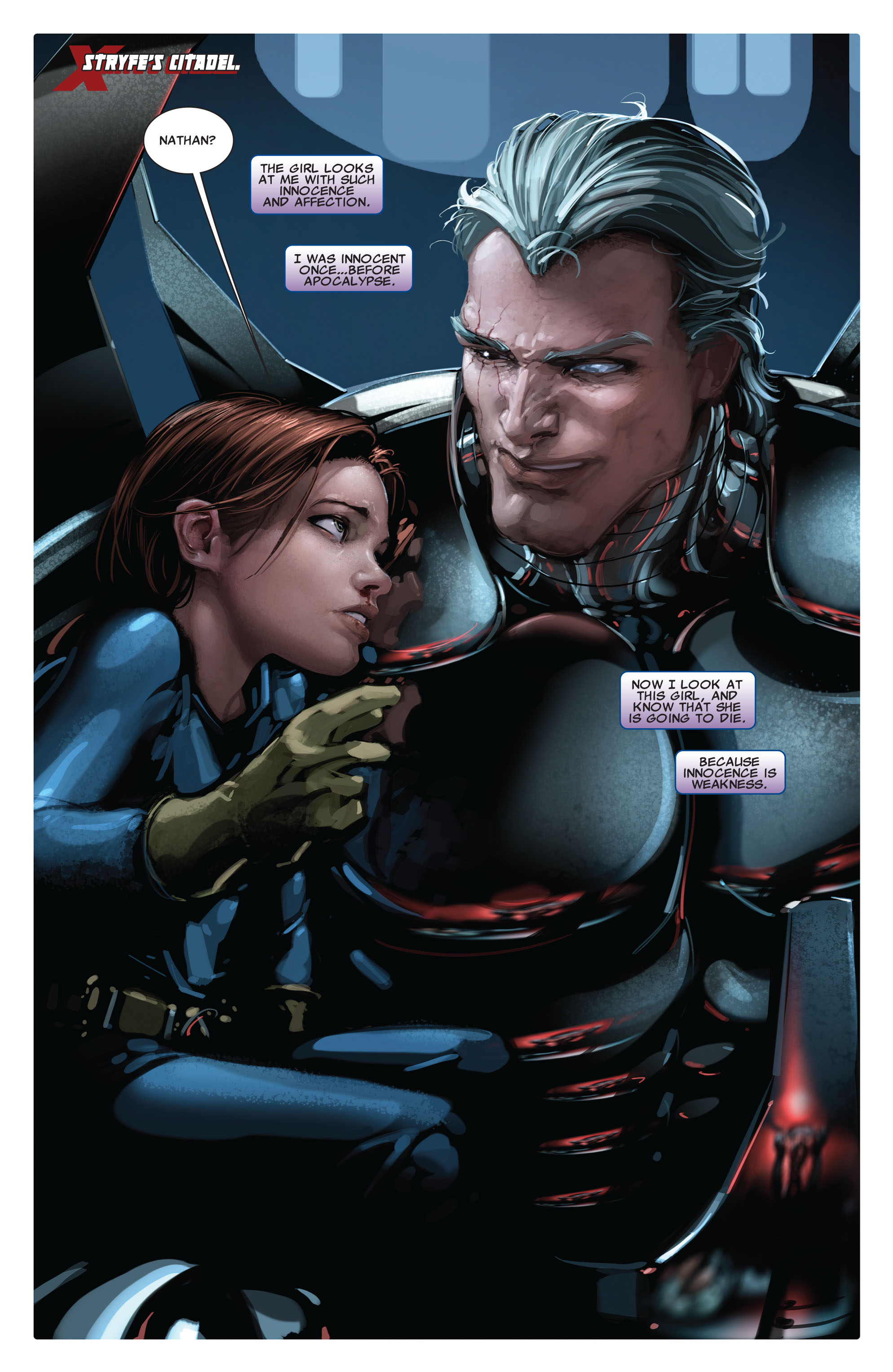 Read online X-Force (2008) comic -  Issue #15 - 3