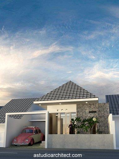 Desain rumah lebar 9 meter