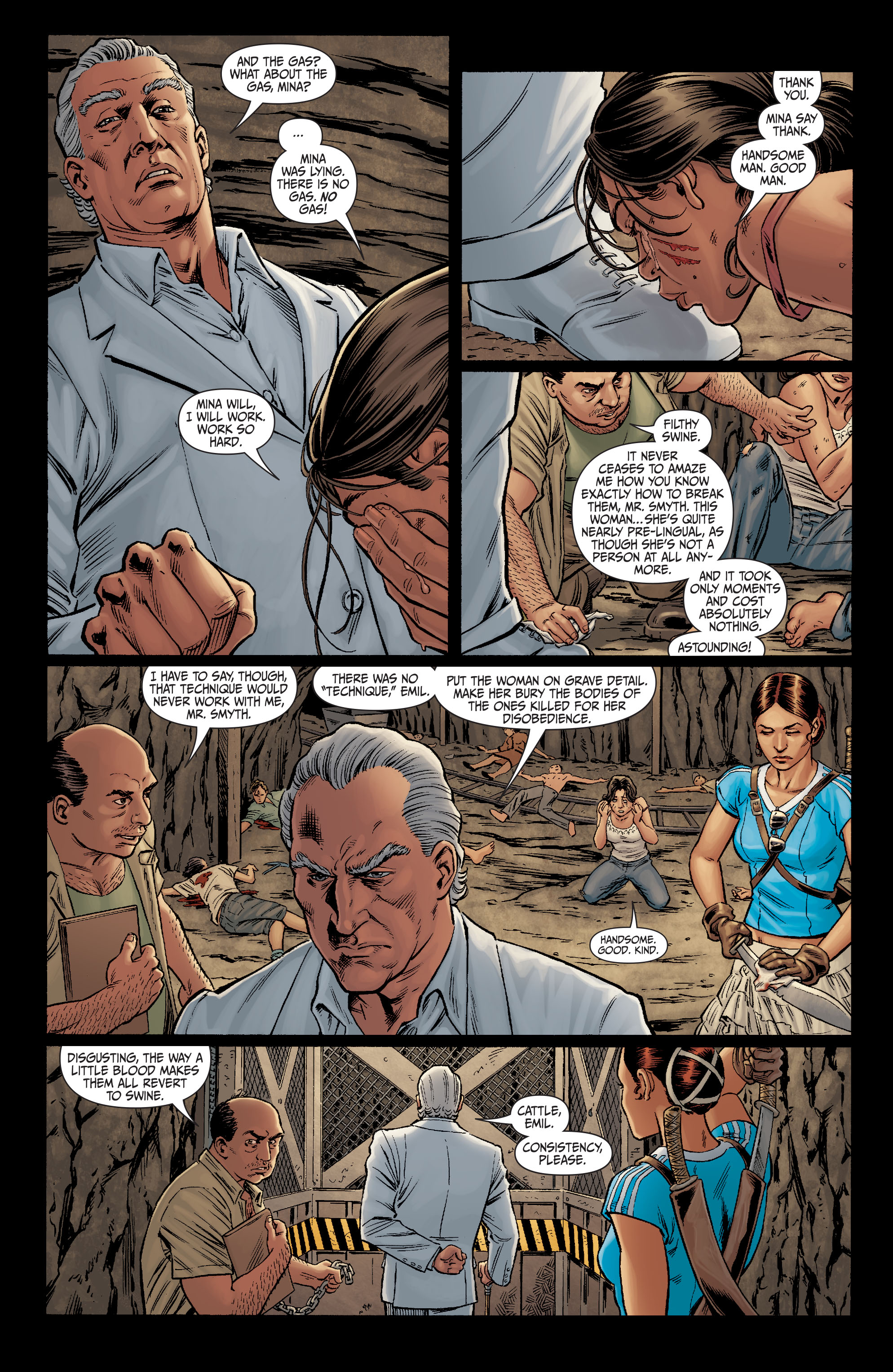 Read online Secret Six (2008) comic -  Issue #10 - 5