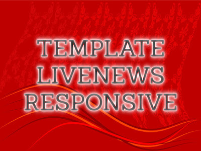 Template Terbaru 2017 LiveNews Seo Responsive Download Gratis