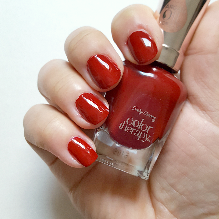 Review & Swatches: Sally Hansen Color Therapy Kollektion - 370 Unwine´d