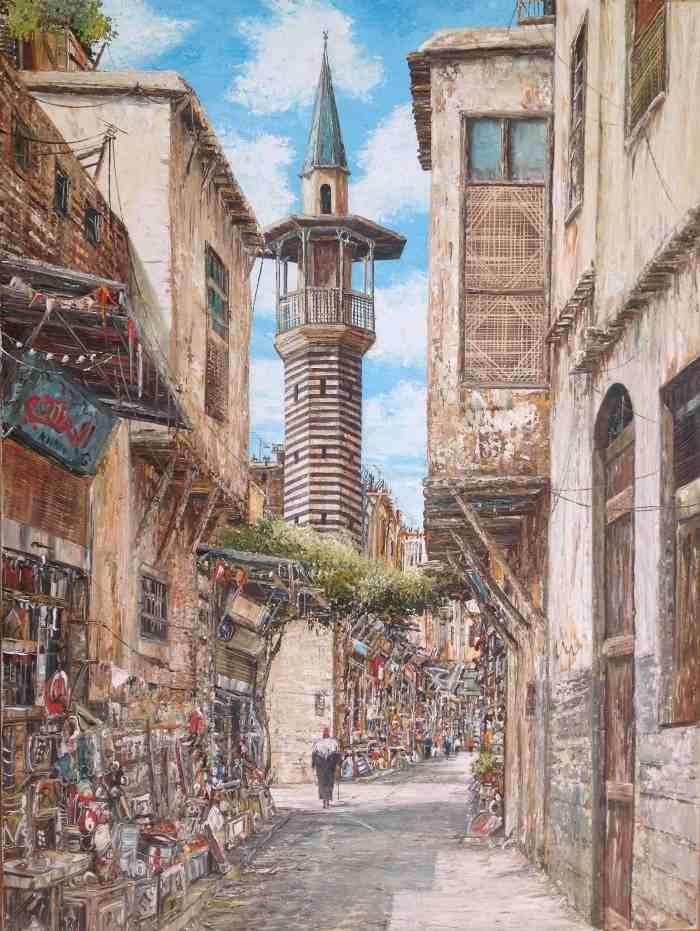 Современный сирийский художник. Ayman Bitar