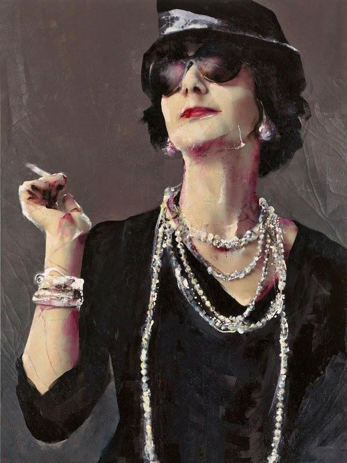 Современная испанская художница. Lita Cabellut