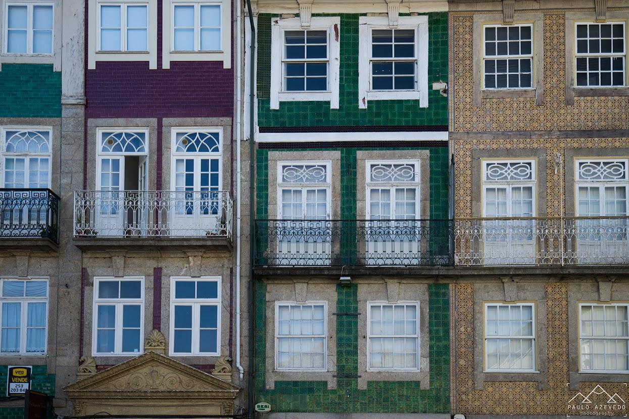 Fachadas na Rua do Souto, Braga