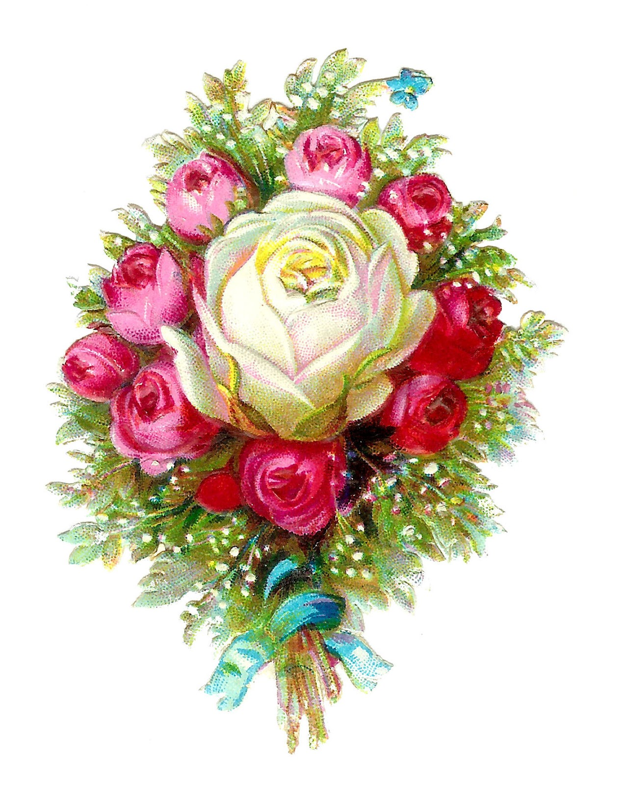 free clipart bouquet of flowers - photo #24