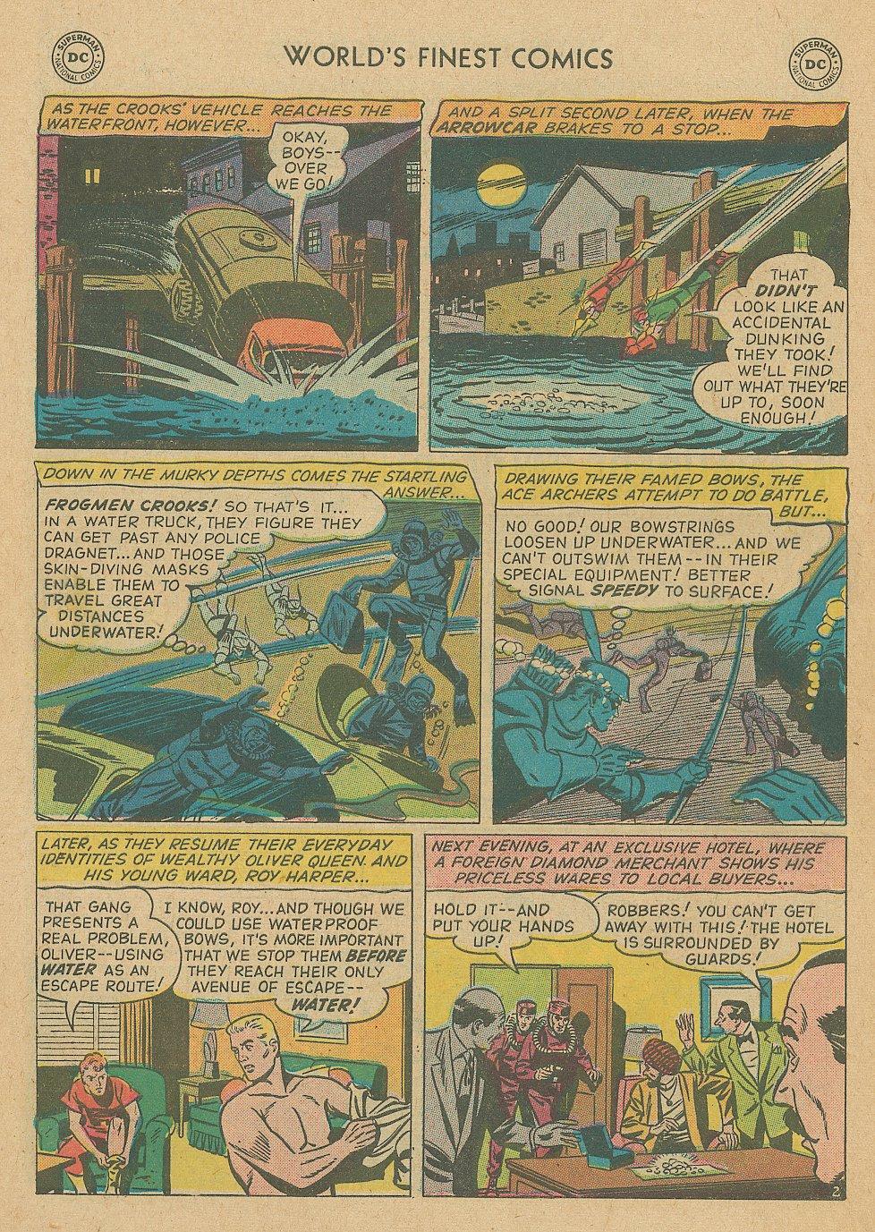 Read online World's Finest Comics comic -  Issue #92 - 4