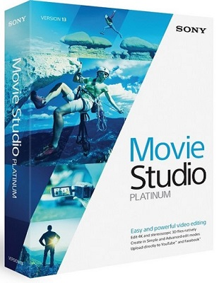 MAGIX Movie Studio Platinum 13.0 Build 981 poster box cover