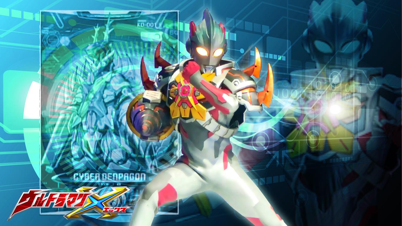 Tokusatsu Wallpaper Ultraman X Denpagon Armor