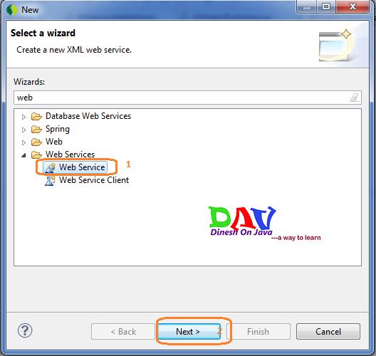 JAX-WS Web Service Example