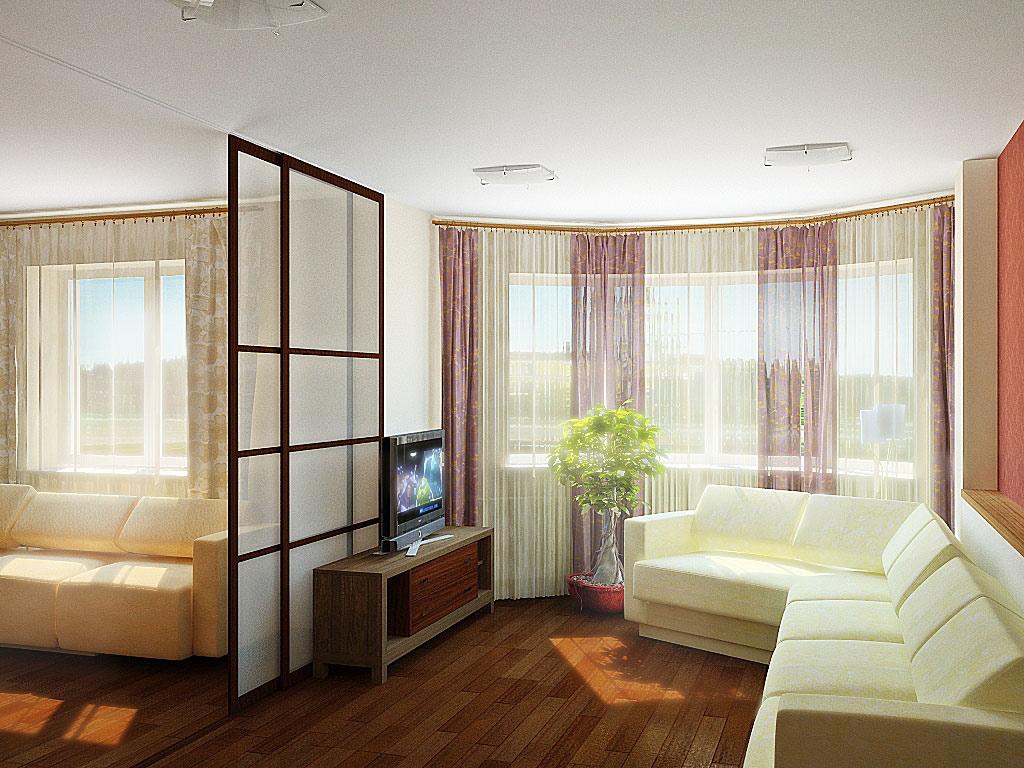 Desain Interior dengan Pintu Geser