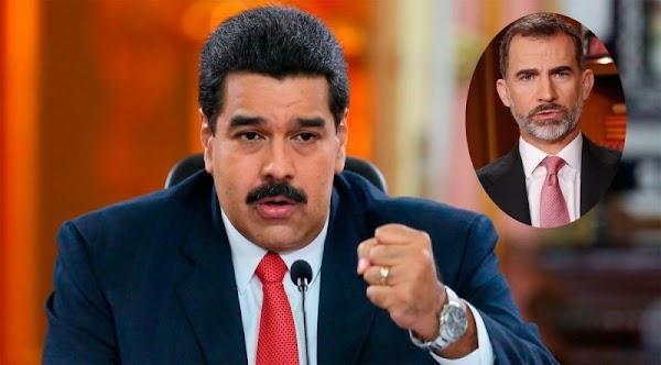 El Rey de España debe pedir perdón por el genocidio más grande de la historia: Nicolas Maduro