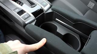 '16 Honda Civic center console