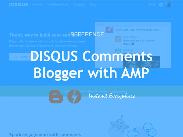 Add DISQUS Comments for Blogger Template AMP