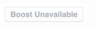 Facebook Boost Unavailable