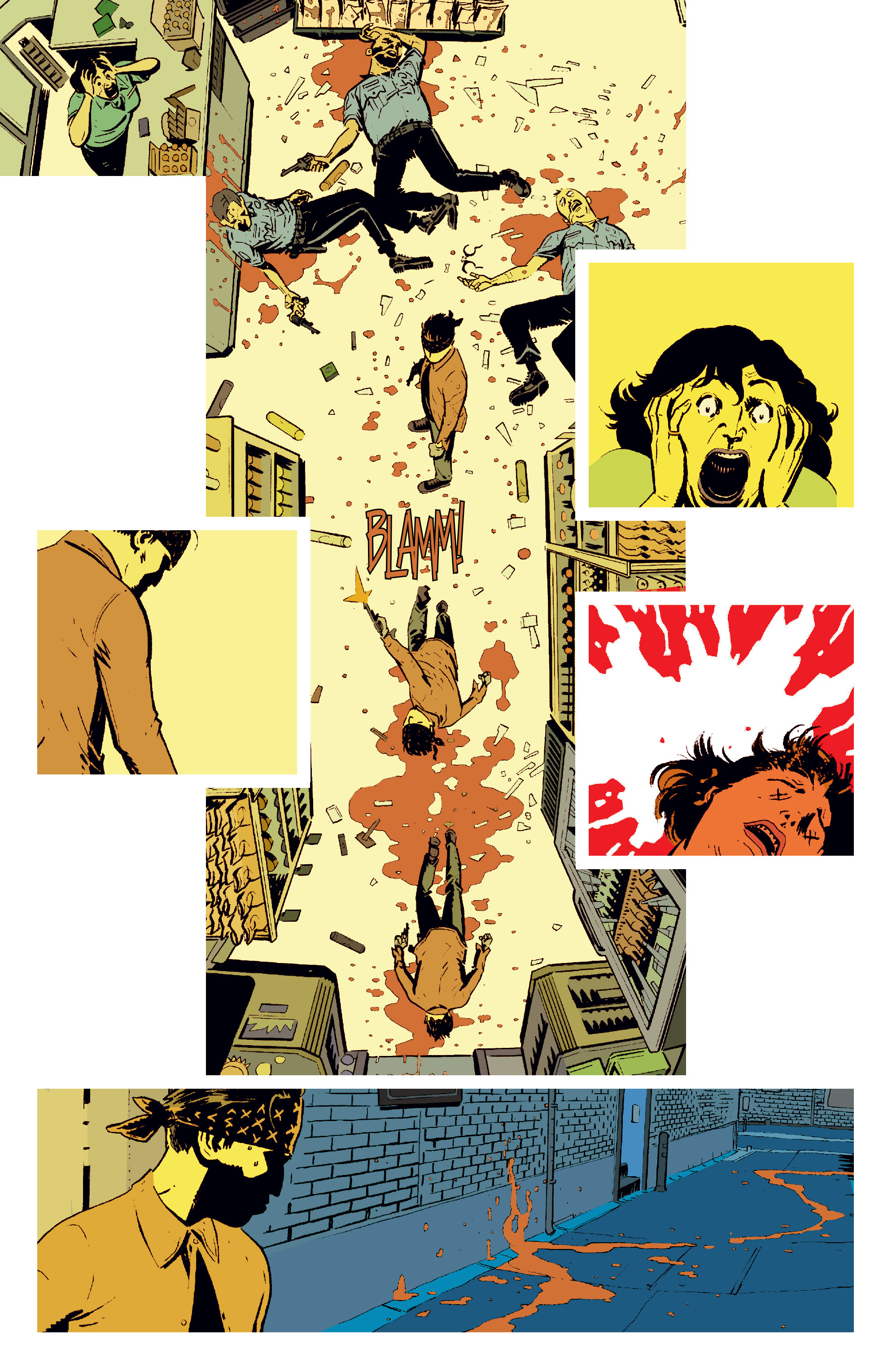 Read online Deadly Class comic -  Issue #6 - 6