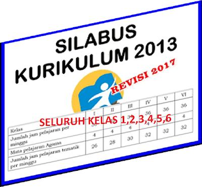 Silabus SD kurikulum 2013 Revisi Tahun 2016