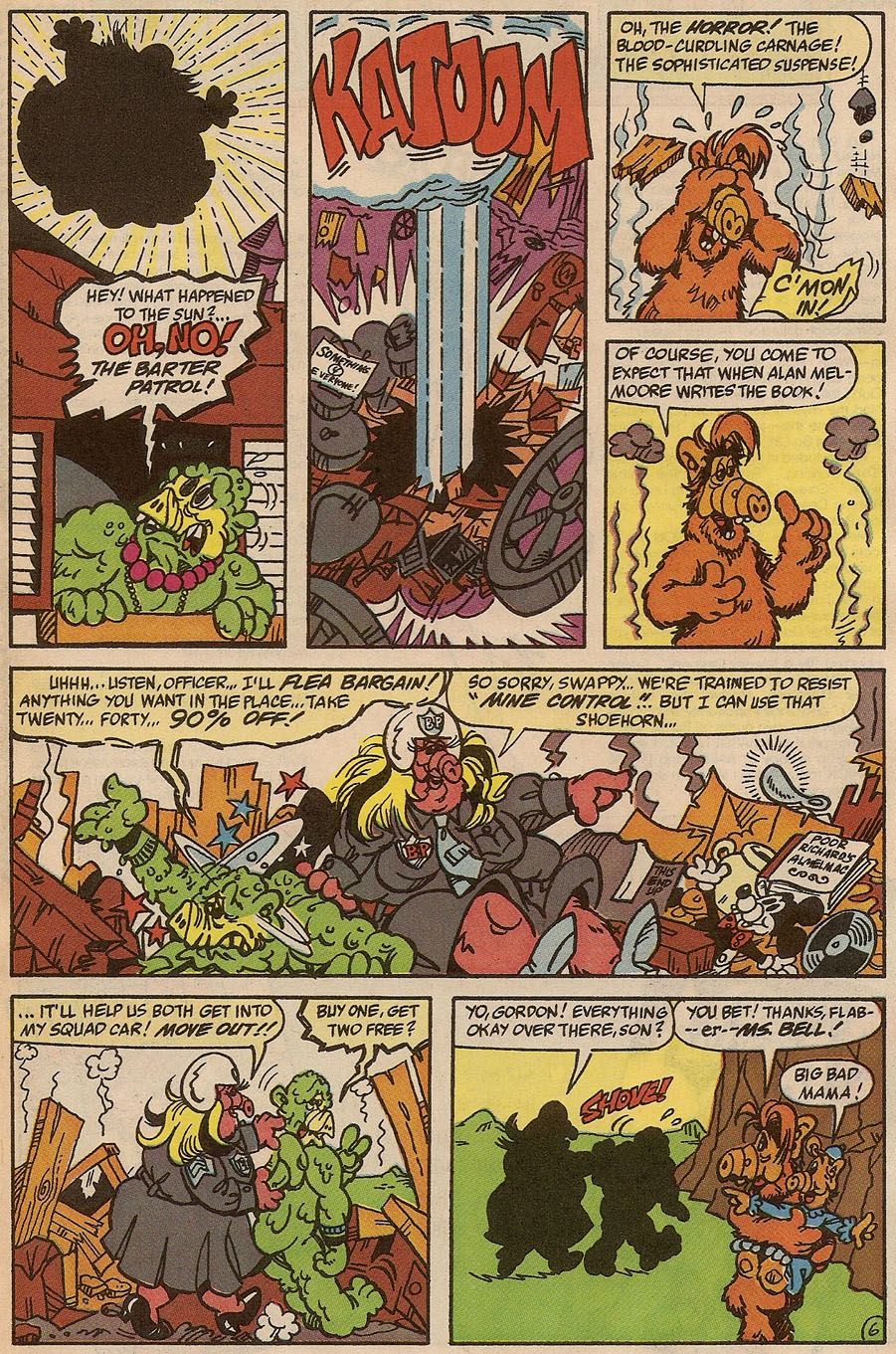 Read online ALF comic -  Issue #37 - 29