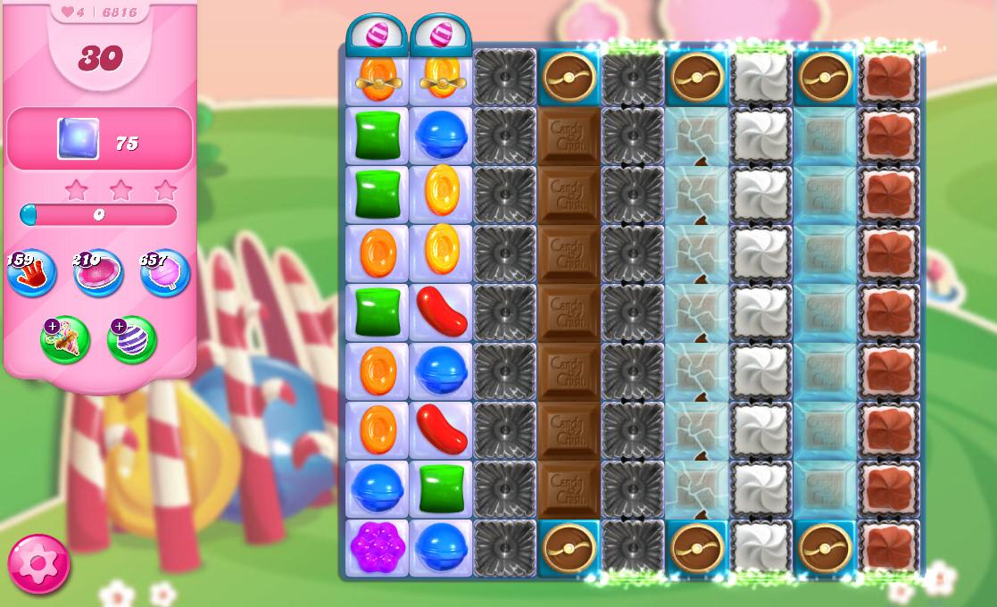 Candy Crush Saga level 6816