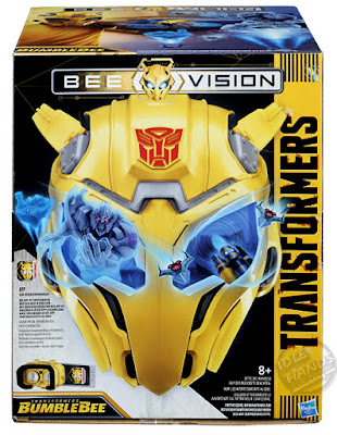 Hasbro Transformers Bumblebee Movie Bee Vision VR set