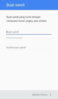 Cara membuat akun Gmail di hp