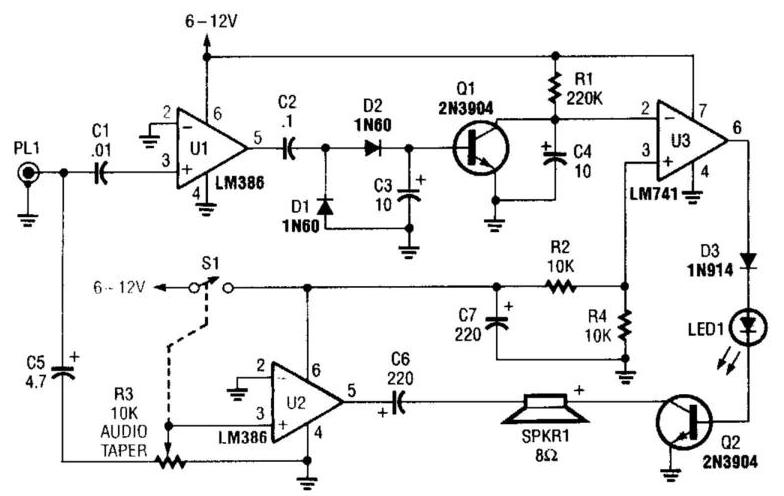 voice circuit diagram