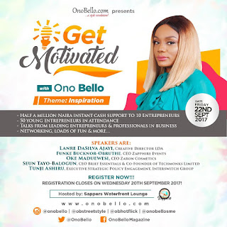 Get Motivated with Ono Bello