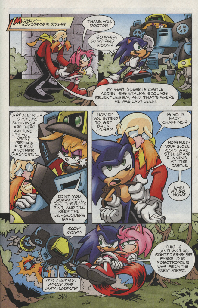 Read online Sonic The Hedgehog comic -  Issue #193 - 15