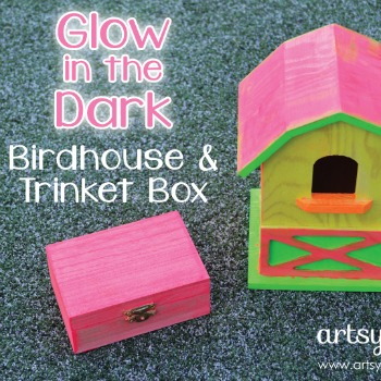 Glow in the Dark Birdhouse