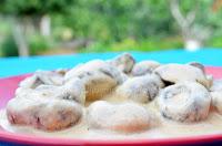 Μανιτάρια με άσπρη σάλτσα - by https://syntages-faghtwn.blogspot.gr