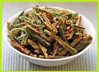 Besni Bhindi Recipe