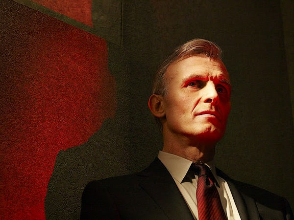 Richard Sammel as the mysterious Thomas Eichorst in The Strain Season 1 Episode 1 Night Zero