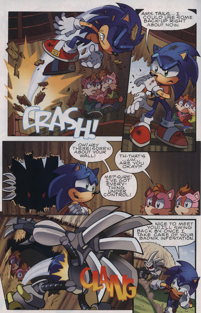 Read online Sonic The Hedgehog comic -  Issue #239 - 22