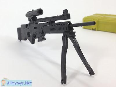 4D plastic 1:6 model toy gun SL8 3