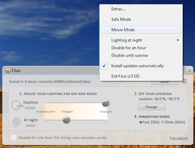 automatically adjust the brightness of the PC screen