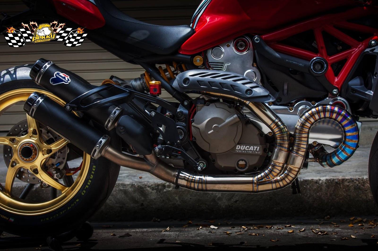 Ducati Monster 821 >> Il Ducatista - Desmo Magazine: Ducati Monster 821 Special