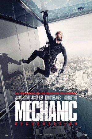 Poster Mechanic: Resurrection 2016
